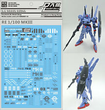 D.L high quality Decal water paste For Bandai RE 1/100 MSF-007 MK-III MK3 Gundam