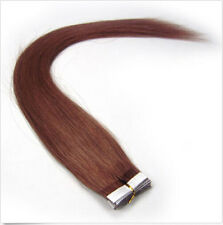 """20 pcs  16-24""""  Remy AAA Tape In 100% Human Hair Extensions Straight Hair"""