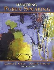 Mastering Public Speaking (6th Edition)