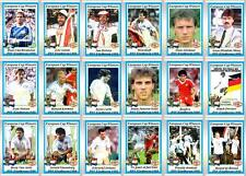 PSV Eindhoven European Cup winners 1988 football trading cards