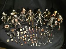 NECA PREDATOR Lot Loose 15 Count With Accessories