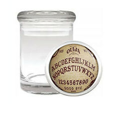 OUIJA BOARD D4 ODORLESS AIR TIGHT MEDICAL GLASS JAR CONTAINER OCCULT WITCHCRAFT