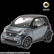 Smart C 453 ForTwo Coupe Passion Gray/Black 1:18