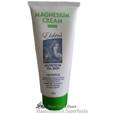 Magnesium Cream Green 100g.  From Food Grade Magnesium Chloride Hexahydrate