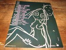LOUISE ATTAQUE - PUBLICITE DATES TOURNEE 2000 !!3 !!!!!