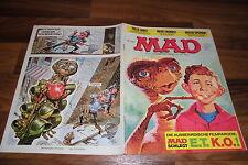 MAD # 166 -- MAD schlägt E.T KO / MAD-BEWERBUNGSFORMULARE für JOBSUCHE / MAD-ABO