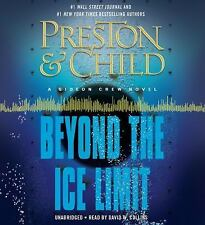 BEYOND THE ICE LIMIT BY PRESTON & CHILD AUDIOBOOK A GIDEON CREW NOVEL NEW