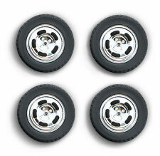 1978 FORD MUSTANG II COBRA FIVE SLOT WHEELS & TIRE SET 1/18 BY GREENLIGHT 12941