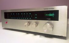 HARMAN KARDON T-403 AM FM STEREO TUNER VINTAGE 1977 NEEDS REPAIR