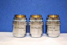 HIGH QUALITY, Nikon BD Plan APO 40 0.80 Microscope Objective