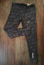 Nike Running Dri Fit Men's Running Tights XL Style 717772 Black/Gray