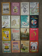 "Vintage Lot of 16 Harper & Row Children's Hardcover Books ""An I Can Read Book"""