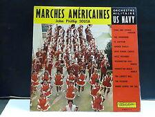ORCHESTRE MILITAIRE US NAVY John Phillip SOUSA Marches américaires 30CV962