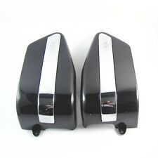 One Pair Black Battery Cover Two Sides for Honda Rebel CA250 New