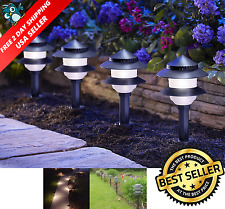 10-Pack Outdoor Landscape Fixtures Path Lighting Spot Lights Garden Low Voltage