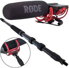 Rode Videomic Rycote Kamera-Mikrofon + KEEPDRUM MPB01 PRO Boompole 3m Tonangel