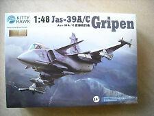 KITTHAWK-1/48-#KH80117-JAS-39A/C GRIPEN