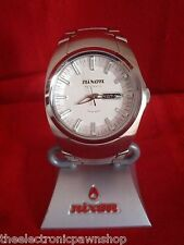 "Nixon ""The Automatic"" (White) 200M 25 Jewel Swiss Movement"