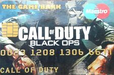 Call of Duty Black Ops  - Credit Cruncherz Collectable Novelty Credit Card