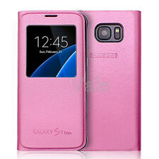 Smart S-VIEW Wallet Leather Case Cover for Samsung Galaxy S7 / S7 Edge
