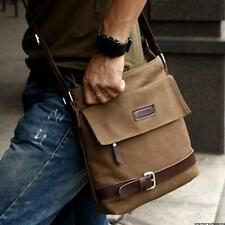 Men's Vintage Casual Canvas Crossbody Shoulder Bags Messenger Hiking Man Satchel