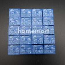 10 pcs Mini DC5V SONGLE Power Relay SRD-5VDC-SL-C PCB Type SRD-05VDC-SL-C BLUE !