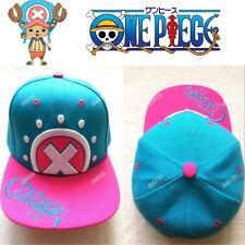 ONE PIECE Tony Tony Chopper anime cosplay cartoon Hat Baseball caps Embroidery
