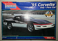 Monogram - 1995 Corvette - Indy Pace Car - 1:24 Scale - NIB