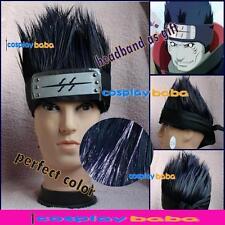 NARUTO Hoshigaki Kisame Cosplay Wig hair boy's Cosplay Wig hair gift Headband
