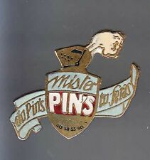 TRES RARE PINS PIN'S .. SALON SHOW EXPO FABRICANT MISTER HEAUME CHEVALIER 3D ~BD