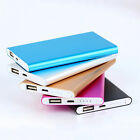 Ultrathin Portable 12000mAh External Battery Charger Power Bank For Cell Phone