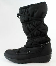 Kamik Womens Luxembourg Waterproof Black Snow Boots Size 9