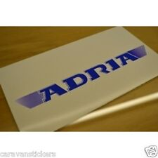 ADRIA - (2008) - Rear Panel Caravan Name Sticker Decal Graphic - SINGLE