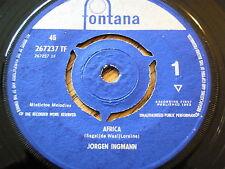 """JORGEN INGMANN - AFRICA  7"""" VINYL"""