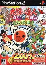 Used PS2  Taiko No Tatsujin bang tap! Toomori 2007 SONY PLAYSTATION JAPAN IMPORT