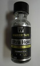 Ultra Hold Adhesive (glue) For Lace Wigs and Toupees Comes With Brush Size 0.5Oz
