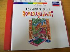 ROMANTIC WEEK END ROMEO AND JULIET CD MINT- TCHAIKOVSKY DELIUS PROKOFIEV BERLIOZ