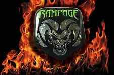 DODGE EMBLEM OVERLAY  rampage front emblem overlay for ram 1500 2500 3500 lime