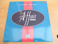 "The Affair  ‎– Hanging On Vinyl 12"" 45 RPM Electronic Funk / Soul   PANTX 00312"