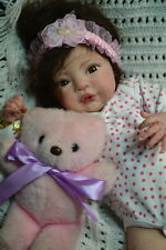 Gorgeous Reborn Baby Girl EMILY was Olive by Denise Pratt COMPLETED BABY DOLL
