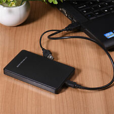 USB 2.0 Hard Drive External Enclosure 2.5inch SATA HDD Mobile Disk Box Case HOT