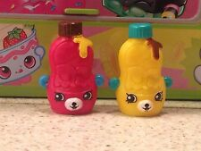 Shopkins Season 4 Lot Of 2 Special Edition Petkin Big Topping