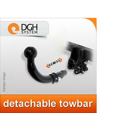 Towbar detachable (horizontal) Peugeot 806 1994-2002