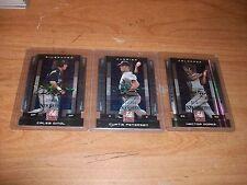(3) 2008 Donruss Baseball Rookie Auto Cards Curtis Petersen Hector Gomez /100