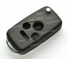 Uncut blank Remote Folding Flip Key Shell Case For Honda Accord Civic 4 buttons