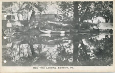 Edinboro PA * Oak Tree Boat Landing  1924   Erie Co.
