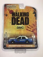 Greenlight Ford Crown Victoria Police Interceptor Walking Dead Sheriff Car 1:64