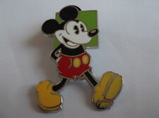 Disney's Mickey Mouse Green Background Pin Badge