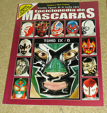 Enciclopedia De Mascaras Tomo  IX Lucha Libre Wrestling Mask Encyclopedia