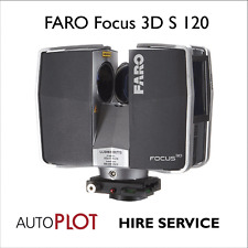 FARO Focus 3D S 120 laser scanner -  rate per 1/2 day including operator £295.00